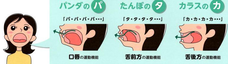 舌口唇運動機能低下